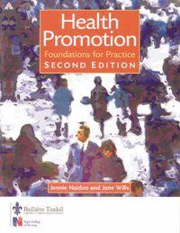 Health Promotion; Jennie Naidoo, Jane Wills; 2000