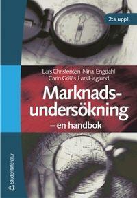 Marknadsundersökning; Lars Christensen, Lars Haglund, Carin Grääs, Nina Engdahl; 2001