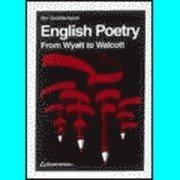 English Poetry; Bo Gustavsson; 1993