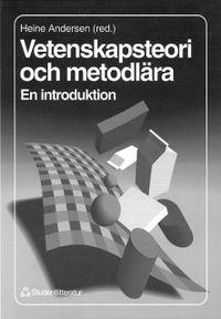 Vetenskapsteori och metodlära; Heine Andersen; 1994