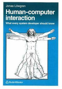 Human-computer Interaction; Jonas Löwgren; 1993