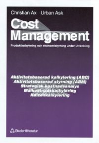 Cost Management; Urban Ask, Christian Ax; 1995