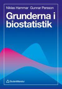 Grunderna i biostatistik; Niklas Hammar, Gunnar Brobert; 1996