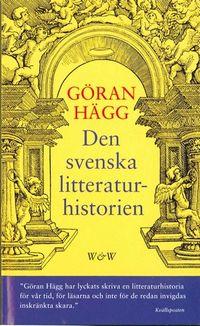 Den svenska litteraturhistorien; Göran Hägg; 2001