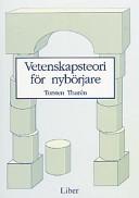 Vetenskapsteori för nybörjare; Torsten Thurén; 1996