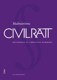 Civilrätt; Anders Agell, Åke Malmström, Christina Ramberg, Tore Sigeman; 2018